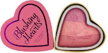 Makeup Revolution Blushing Hearts Róż Blushing Heart 10g