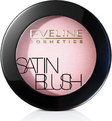 Eveline Satin Blush Róż do policzków nr 06 Peach Beige  5.5g