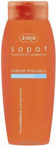 Ziaja Sopot balsam brązujący relaksujący 200ml