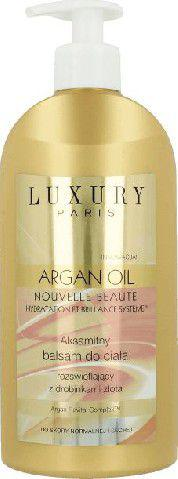 Eveline Luxury Paris Argan Oil Balsam do ciała rozświetlający  350ml