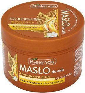Bielenda Golden Oils Ultra Nawilżanie Brązujące masło do ciała  200ml