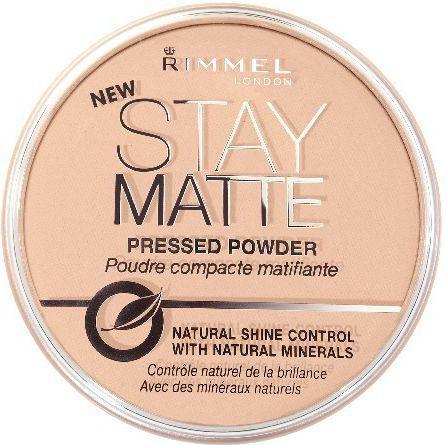 Rimmel  Puder prasowany Stay Matte nr 004  14g