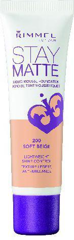 Rimmel  Stay Matte Podkład w tubie Soft Beige 200 30 ml