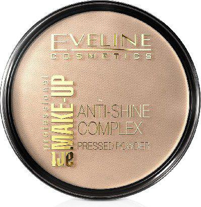Eveline Art Professional Make-up Puder prasowany nr 34 medium beige  14g
