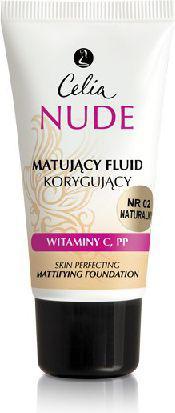 Celia Nude Make-Up matująco-korygujący 02 Natural 30 ml