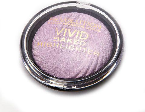 Makeup Revolution Vivid Baked Rozświetlacz do twarzy Pink Lights  7.5 g