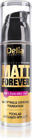 Delia Cosmetics Matt Forever Podkład matująco-kryjący 3w1 nr 44  35ml