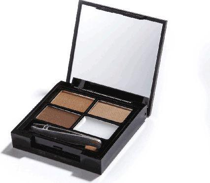Makeup Revolution Focus & Fix Brow Kit Cienie do brwi  Medium-Dark  5.8g
