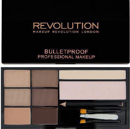Makeup Revolution Ultra Brow Zestaw do stylizacji brwi Fair to Medium