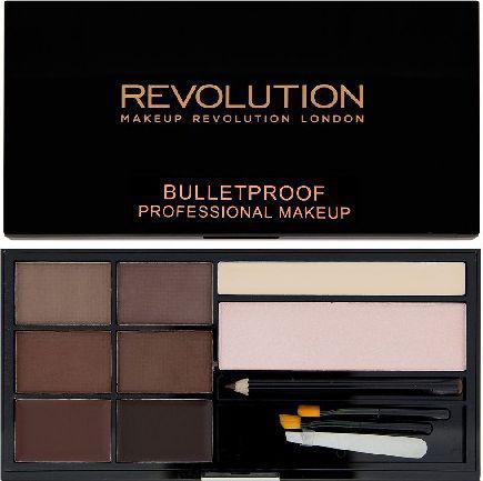 Makeup Revolution Ultra Brow Zestaw do stylizacji brwi Medium to Dark