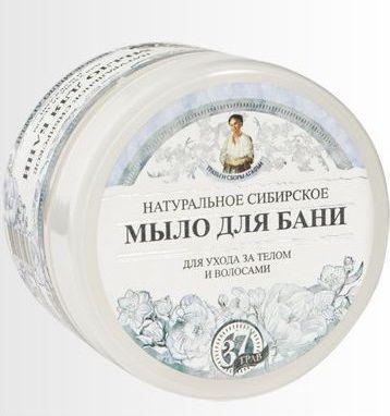 Babuszka Agafia Naturalne syberyjskie białe mydło Agafii 500 ml