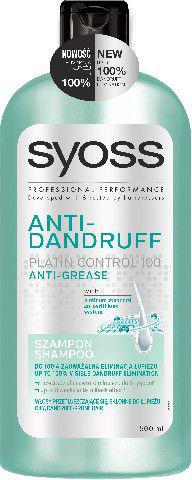 Syoss Antidandruff Szampon do włosów Anti Grease 500 ml