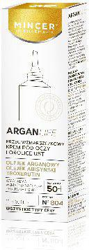 Mincer Pharma ArganLife 50+ Krem pod oczy i okolice ust  15ml