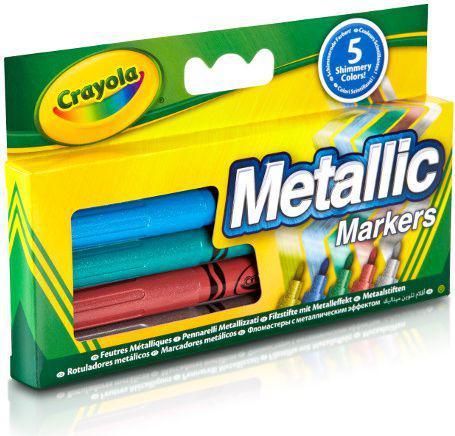 Crayola Markery metaliczne 5 szt. (58-5054)