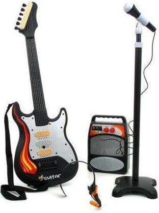 Brimarex Gitara z mikrofonem i wzmacniacz - 1560490