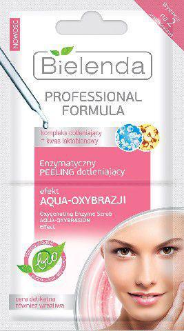 Bielenda Professional Formula Maseczka peeling enzymatyczny Efekt Aquaoxybrazji  5g x 2