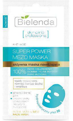 Bielenda Skin Clinic Professional Aktywna maska nawilżająca 3D  10g