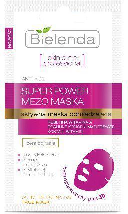 Bielenda Skin Clinic Professional Aktywna maska odmładzająca 3D  10g