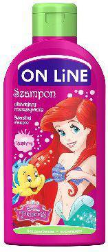 On Line Disney Princess Szampon ułatwiający rozczesywanie  malina 250ml