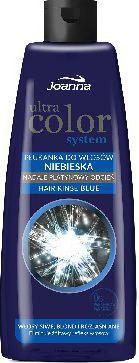 Joanna Ultra Color System Płukanka do włosów niebieska  150 ml