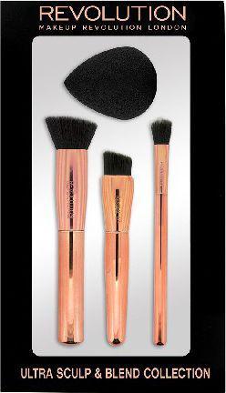 Makeup Revolution Ultra Sculpt & Blend Collection Zestaw Akcesoriów do makijażu 735438