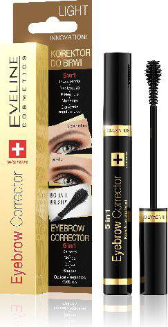 Eveline Eyebrow Corrector Korektor do brwi 5w1 Light  9ml