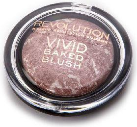 "Makeup Revolution Vivid Baked Blush Róż zapiekany ""Hard Day""  6g"