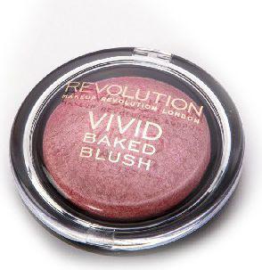 "Makeup Revolution Vivid Baked Blush Róż zapiekany ""All I Think About""  6g"