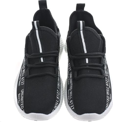 Pepco PEPCO Chłopięce, czarne buty sportowe 39