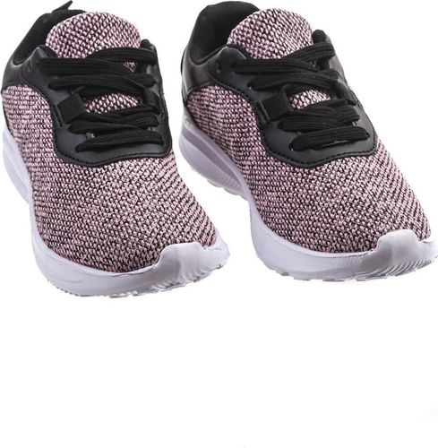 Pepco PEPCO Dziewczęce, różowo-czarne buty sportowe 36