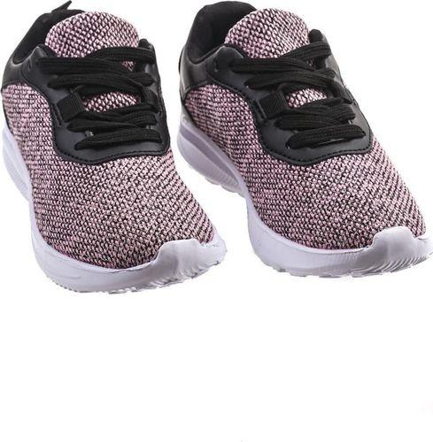 Pepco PEPCO Dziewczęce, różowo-czarne buty sportowe 37