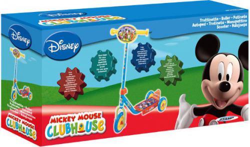 Pulio Mona STAMP Hulajnoga 3 kołowa Mickey