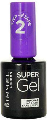 Rimmel  Super Gel Top Coat lakier utrwalający efekt żelowego manicure 12ml