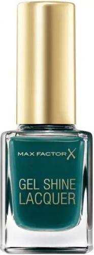 MAX FACTOR Gel Shine Lacquer Lakier do paznokci 45 Gleaming Teal 11ml