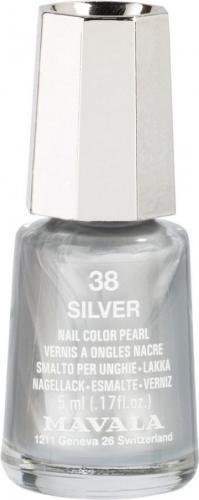 Mavala lakier Nail Color Cream 5ml 38 Silver