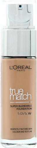 Loreal True Match Super Blendable Foundation D5-W5 Golden Sand 30ml