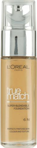 Loreal True Match Super Blendable Foundation N6 Honey 30ml