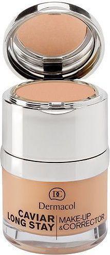 Dermacol Caviar Long Stay Make-Up & Corrector Podkład do twarzy 1 Pale 30ml
