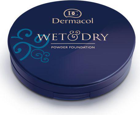 Dermacol Wet & Dry Powder Foundation Puder do twarzy odcień 4 6g