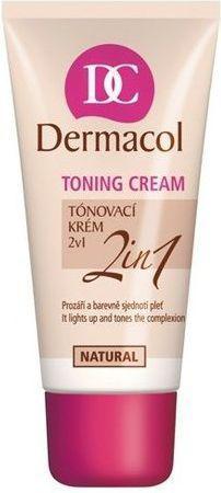 Dermacol Toning Cream 2in1 Krem koloryzujący Natural 30ml