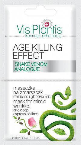 Vis Plantis Age Killing Effect Maseczka na zmarszczki mimiczne  2 x 5 ml