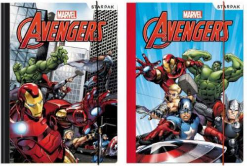 Starpak Teczka z gumką A4 Avengers - (321803)