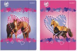Starpak Teczka z gumką A4 Horses - 9298952)