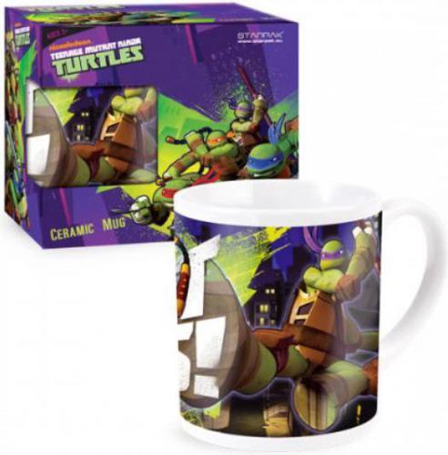 Starpak Kubek ceramiczny Ninja Turtles 250 ml - 314199