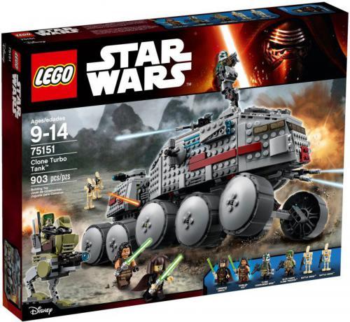 LEGO Turboczołg Klonów (75151)