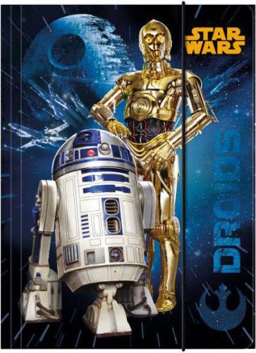 Derform Teczka z gumką A4 Star Wars (DERF.TGA4SW)