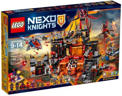 LEGO Wulkaniczna kryjówka Jestro - (70323)
