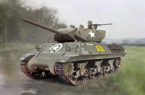 Italeri WWII M10 tank destroyer (15758)