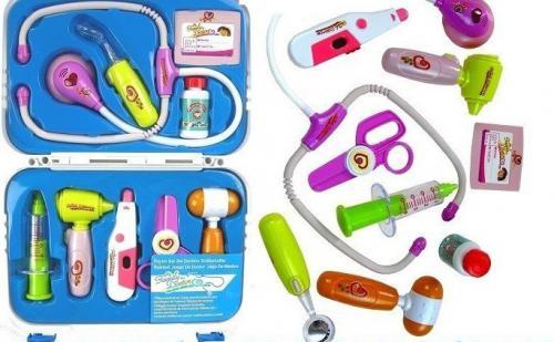 LEANToys Zestaw lekarski walizka dla małego lekarza doktor