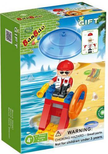 Banbao Mini Ratownik na plaży 21 elementów